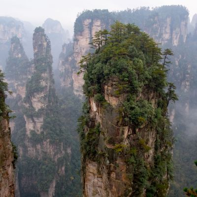 Parc National Zangjajie, Chine