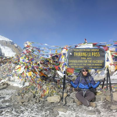 Thorang-La pass (5400m)